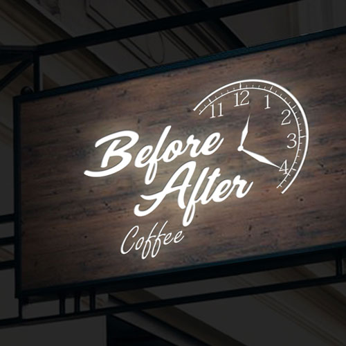 lien vers le projet before after coffee